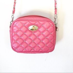 Betseyville pink quilted Crossbody